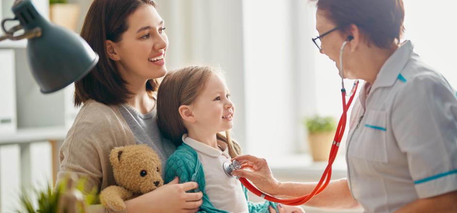 子どもたちの健康を守り地域の子育ての力となる医療を提供します